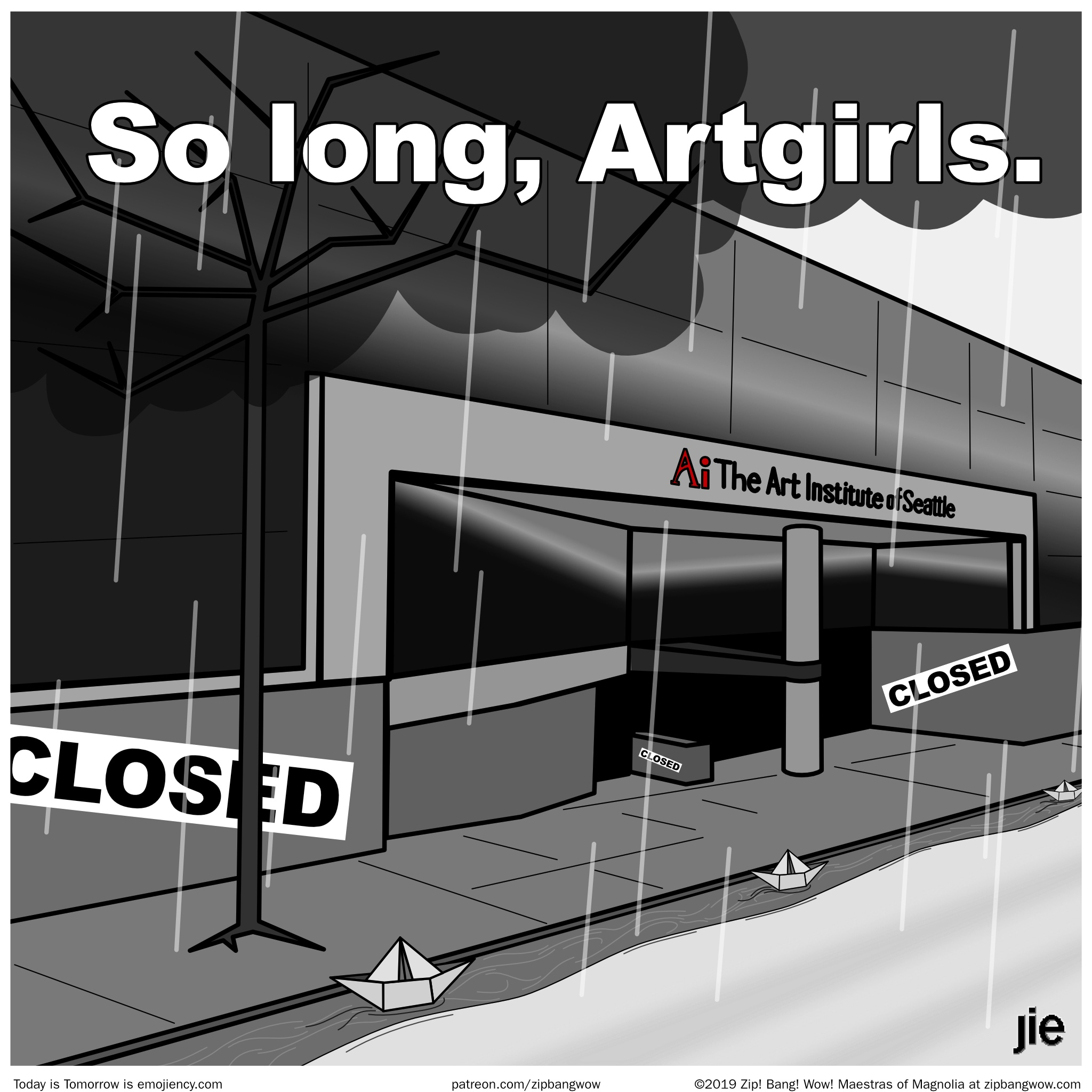 So long, Artgirls